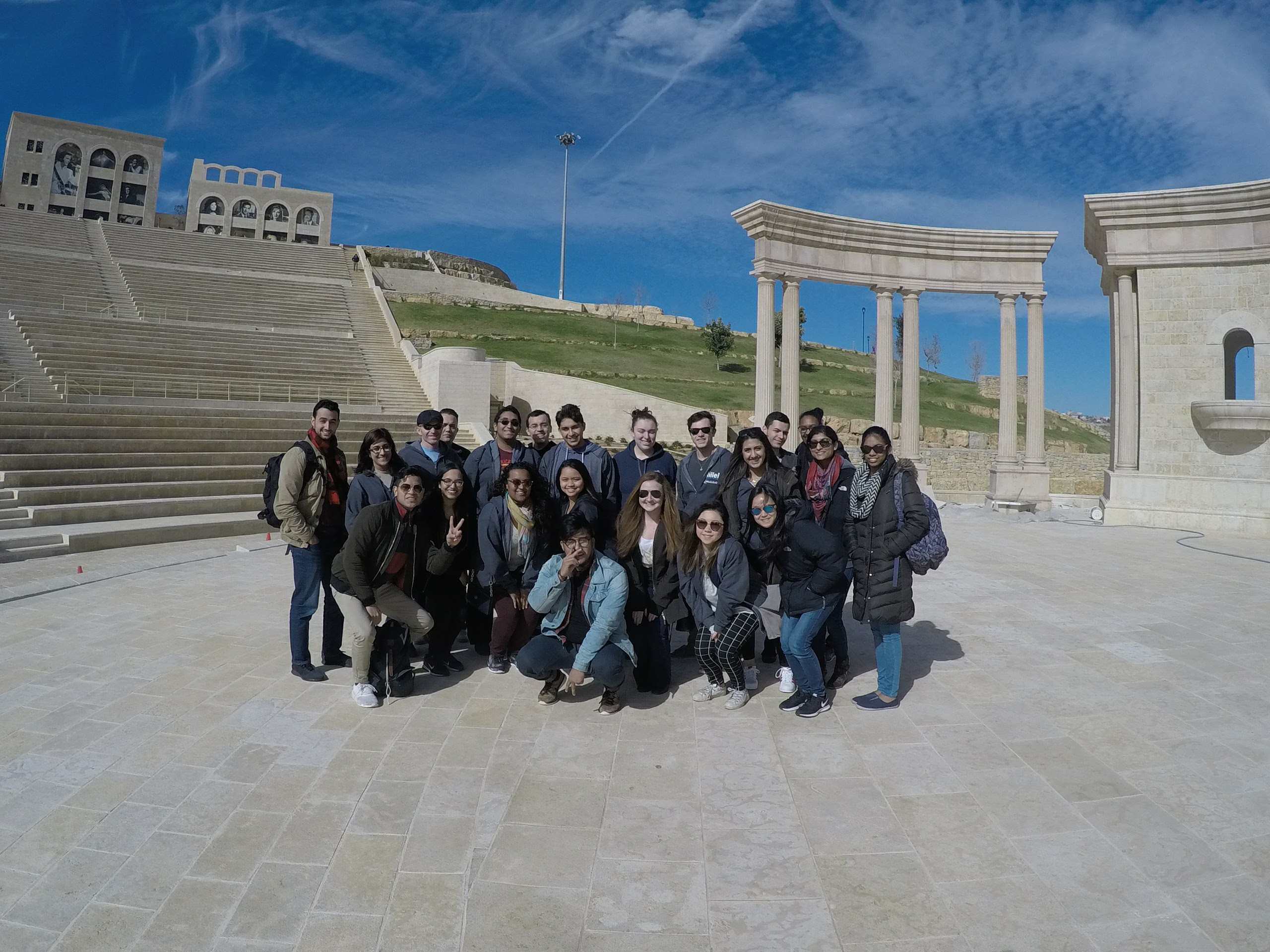 Chanel India Cummings, Israel trip, January 2017